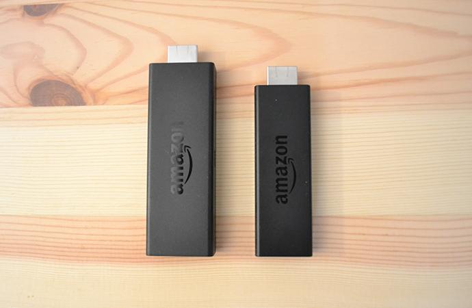 新型Fire TV Stickと旧Fire TV Stickとのサイズを比較