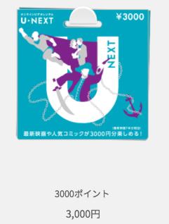 U-NEXTカード ポイント