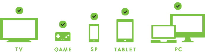 Huluはマルチデバイスに対応!便利な機能も