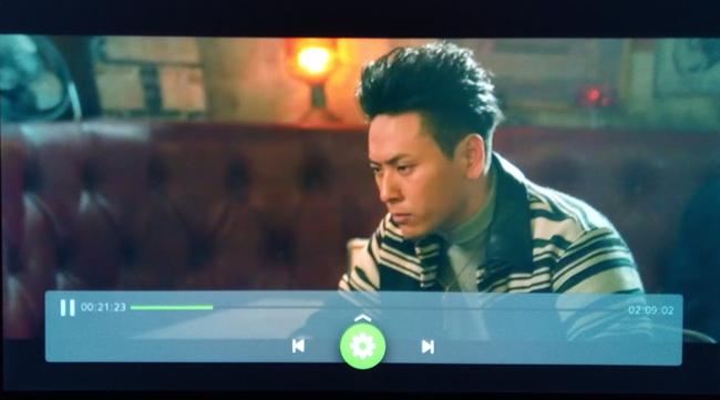 Huluの動画再生画面