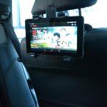 車内でビデオオンデマンドを楽しもう!