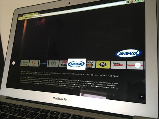 dTVチャンネルはMacでも再生ができた