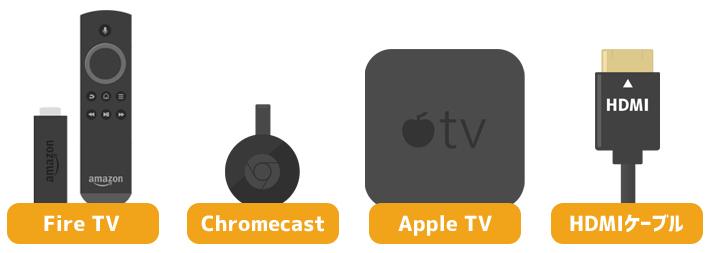 FODをテレビで見るための4つの方法(アイテム)