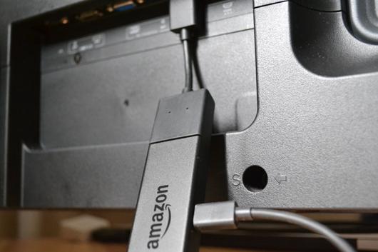Fire TV Stickをテレビに接続する
