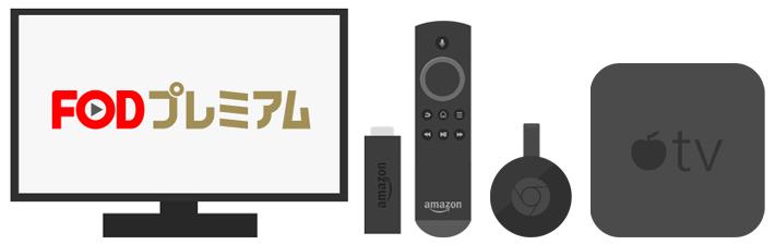 フジテレビオンデマンドをテレビで見るための4つの方法