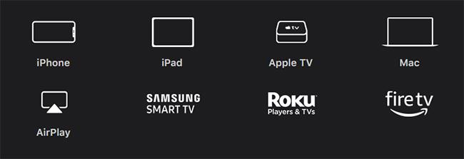 Apple TV+の対応デバイス